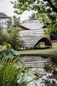 The Robotic Pavilion, Alter botanischer Garten, Zürich